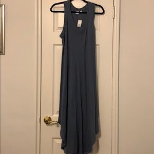 NWT gap midi dress! Pretty blue color!